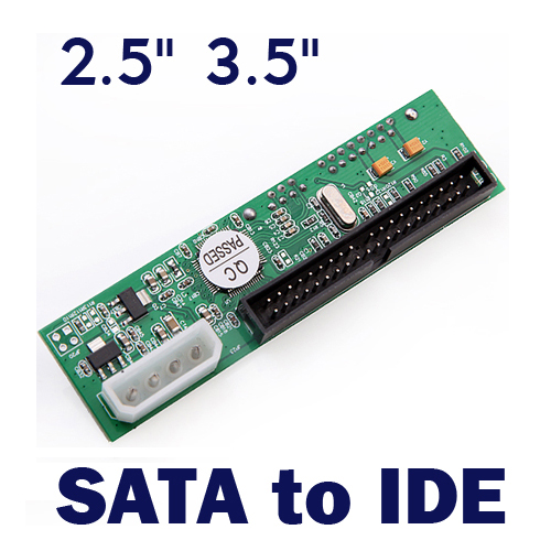 2.5 Inch/3.5 Inch Drive SATA to ATA IDE Converter Adapter