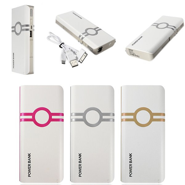 12000mAh External Battery Power Bank Charger For Tablet Cellphone
