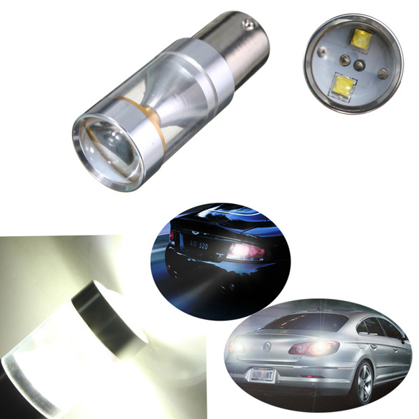 1156 1073 BA15S 6-SMD LED Backup Reverse Light Bulb