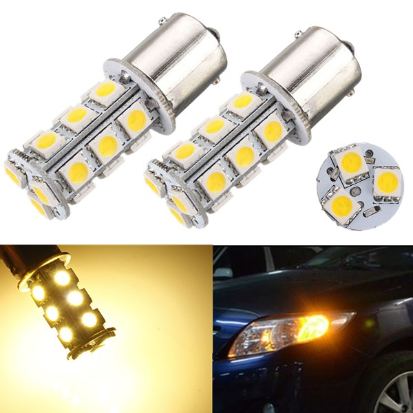 1156 BA15S 5050 18smd DC12V P21W Backup Reverse Light Bulb