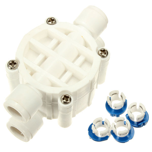 1/2 4 Way Reverse Water Filter Auto Shut Off Valve Osmosis System