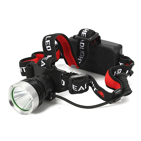 1800LM 3-Mode CREE XM-L T6 LED Rechargeable 18650 Headlight Headlamp