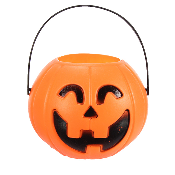 12cm Halloween Pumpkin Candy Jar Halloween Supplies Decoration Prop