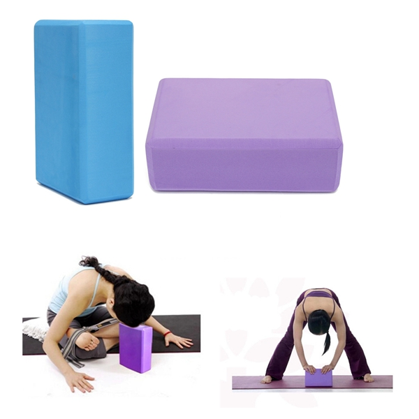EVA Yoga Aerobic Pilates Foam Block Brick Home Exercise Fitness Prop
