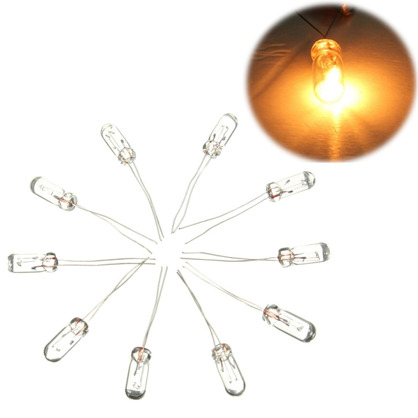 10 Mini Bulbs For GMC X27-168 Stepper Motor Speedometer Gauge