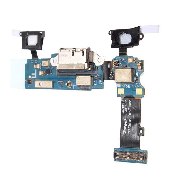 Dock Charging Charger Port Flex Cable For Samsung Galaxy S5 G900F