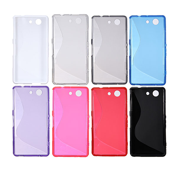S-line Silicone Protective Case For Sony Xperia Z3 Compact M55W