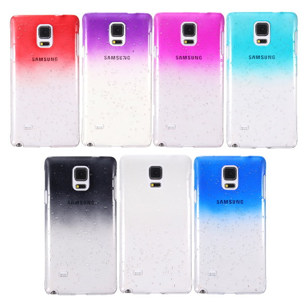 3D Rain Drop Stylish Hard Case Cover For Samsung Galaxy NOTE 4