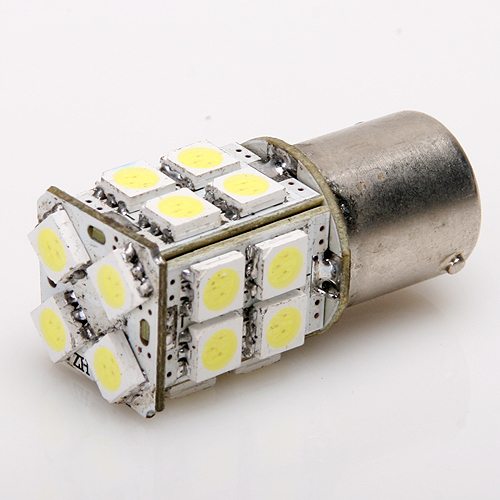 1156 White 20 SMD Turn Tail Brake LED Bulb Light