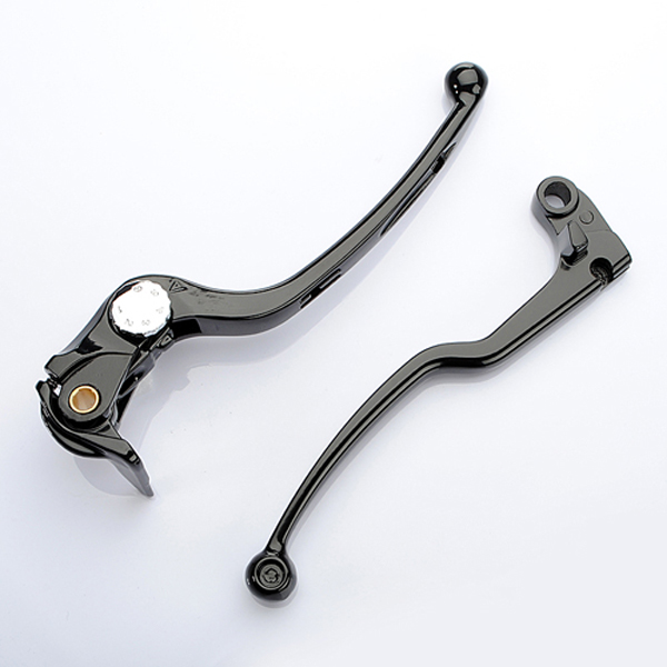 06-09 Suzuki GSXR 600 Brake Clutch Levers black silver-black