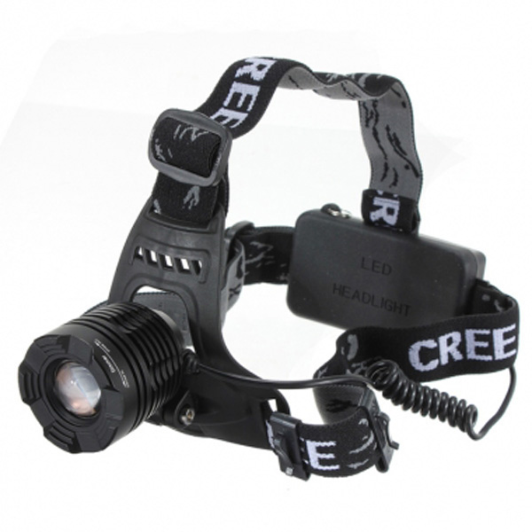1600lumen CREE XML T6 3 Modes Waterproof LED Headlamp For Outdoor