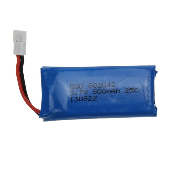 3.7V 500mAh Battery For Hubsan X4 H107 H107L H107C H107D V252 JXD385