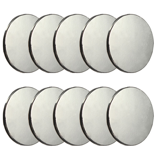 10pcs 20mm x 2mm Disc Rare Earth Neodymium Super strong Magnets N35
