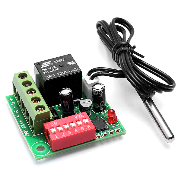 20-90 Thermostat Temperature Control Switch Controller