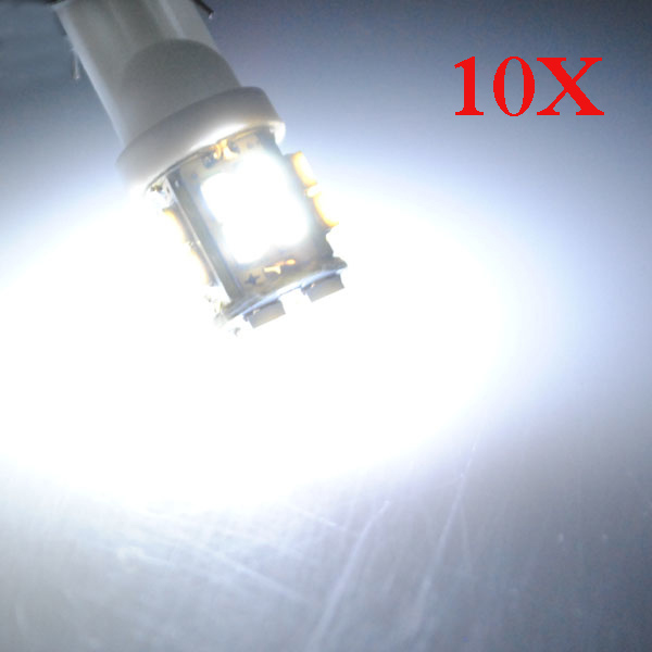10 X T10 W5W 194 Car White 20 SMD LED Side Light Bulb 12V