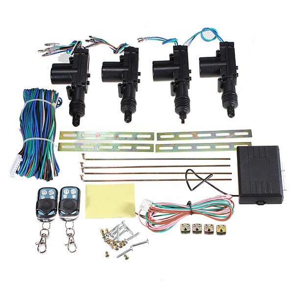 Auto Remote Conversion Keyless Central Door Locking Entry Kit