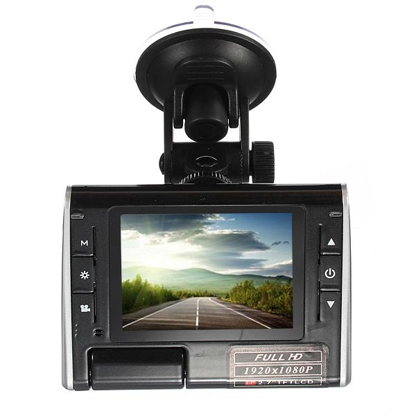 2.7 TFT HD DVR Car Cam Video Dash Recorder Camera K8000