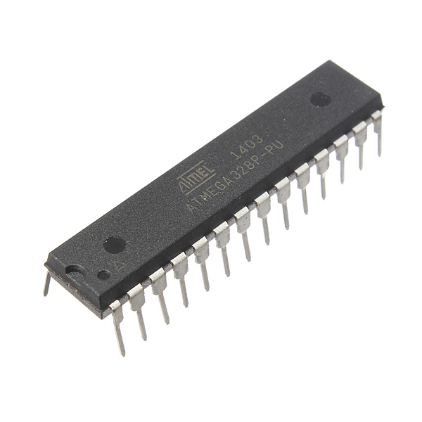 8-Bit MCU ATmega328P-PU DIP28 Microcontroller IC Chip For Arduino