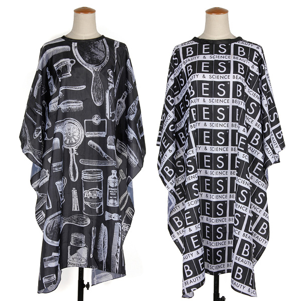 2Style Button-Down Barbers Hair Cutting Cape