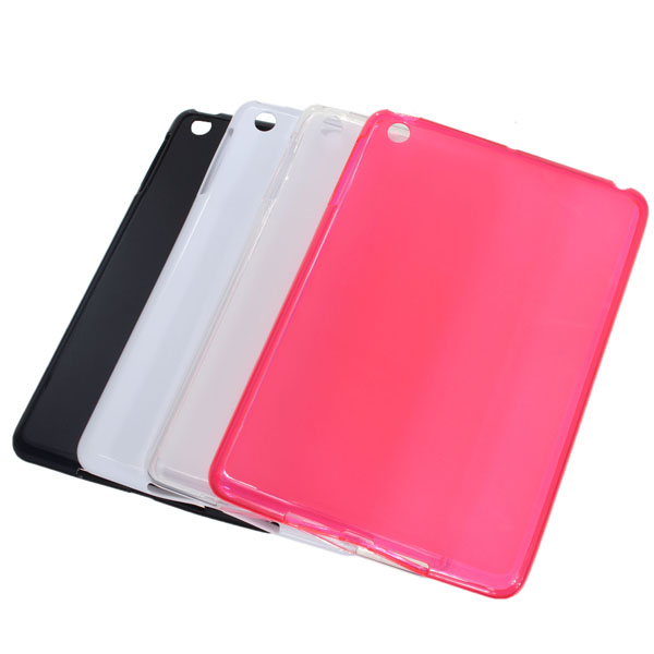 Simplicity Pudding Soft TPU Back Case Cover Skin For iPad Mini