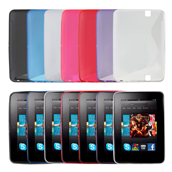 S-Line TPU Gel Silicone Case For Amazon Kindle Fire HD 7 Inch