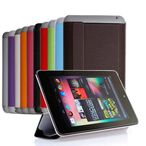 Magnetic Stand PU Leather Case Cover Skin For Google Nexus 7 Tablet