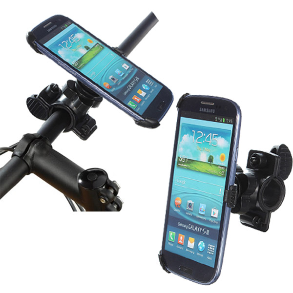 Bicycle Handlebar Mount Holder Stand For Samsung Galaxy S3 i9300