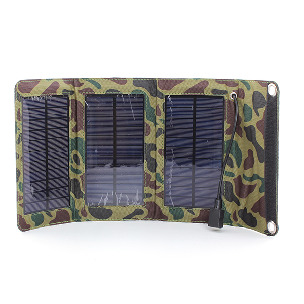 5W Solar Panel Source Power Bank Charger