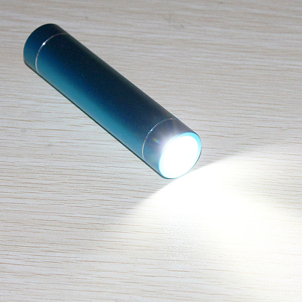 2600mAh Universal Portable LED Light Power Bank For Cellphones