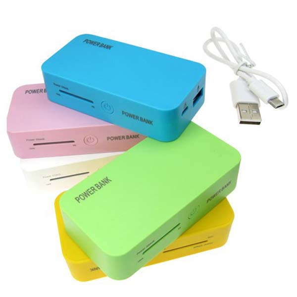 5200mAh LED External Battery Power Bank Charger For iPhone Cellphone