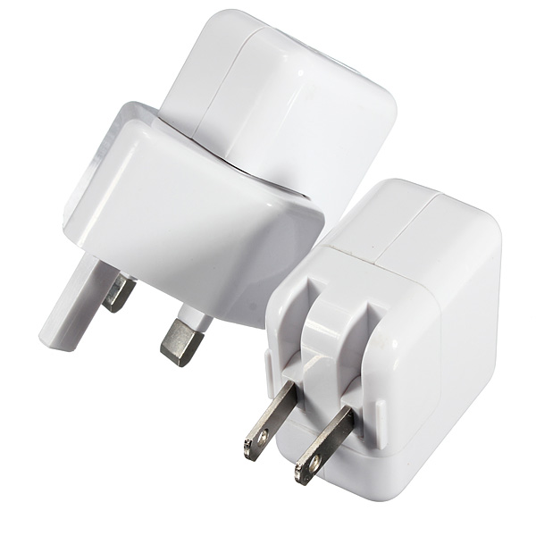 2.1A UK US Plug AC Wall Charger Adapter For iPad 3 4 Mini iPhone 5S 5C