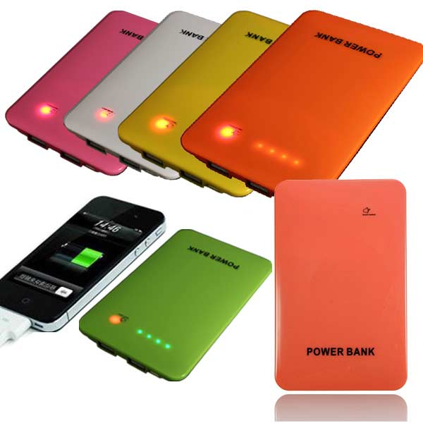 10000mAh Dual USB LED Power Bank Battery For Tablet Cellphone