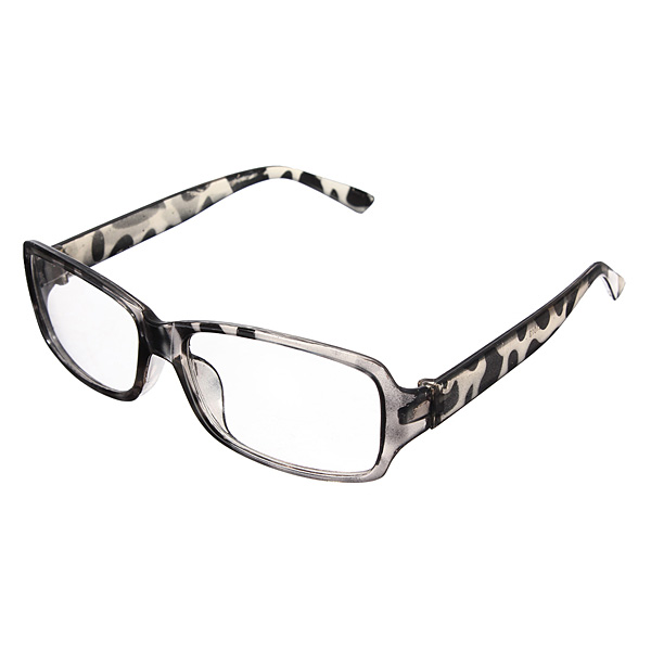 Fashion Optical Clear Resin Plastic Frame Glasses Eight Color