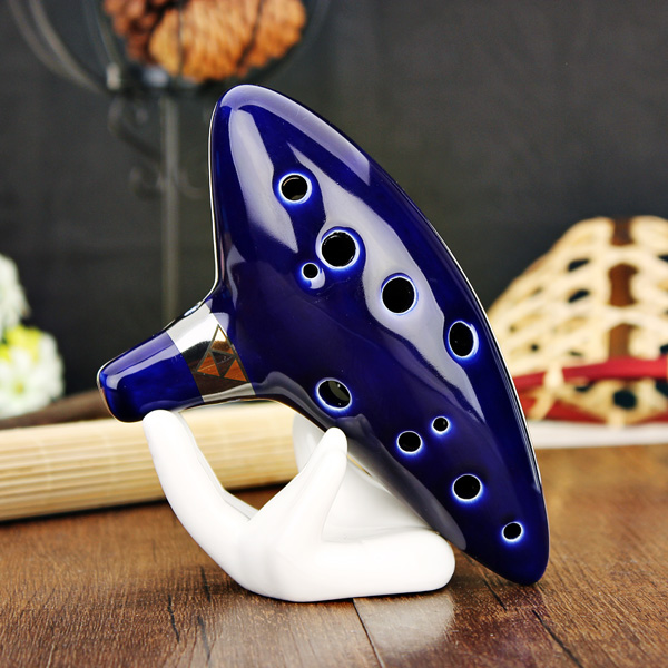 12 Hole Ocarina Ceramic Alto C Legend of Zelda Ocarina Color Box