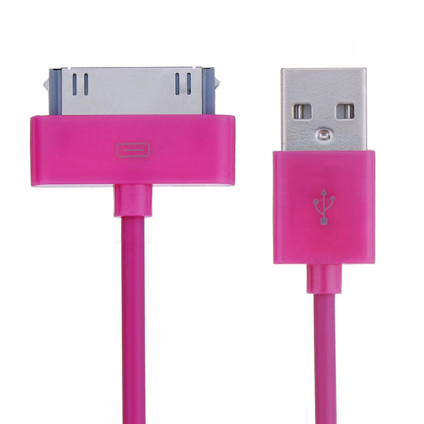2M USB Data Sync Cable Charger Charging Cord For iPhone iPad