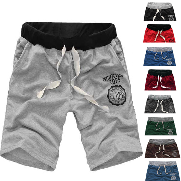 Mens Fashion Sport Casual Loose Shorts Running Bermudas