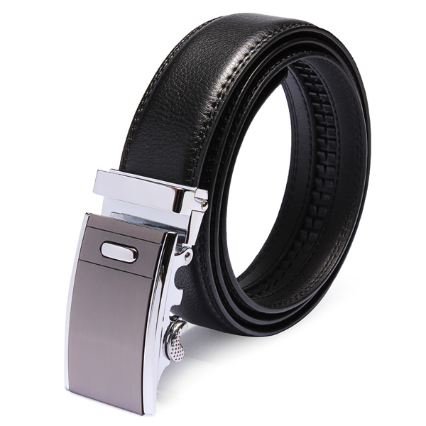Mens Automatic Buckle Business New Design Leather Cowhide Belt