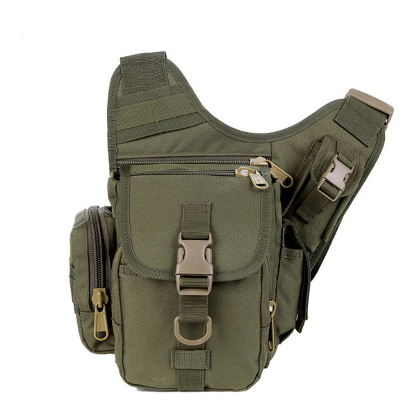 Army Fans Outdoor Andai Shoulder Diagonal Pockets Versatile Bag