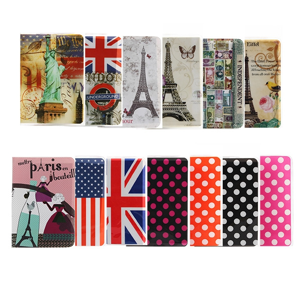 PVC Travel Holder ID Credit Card Case Passport Cover Skin