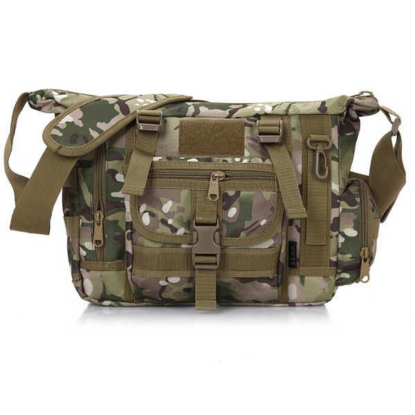 Men's Camouflage Military Fans Casual Shoulder Bag Messenger Bags