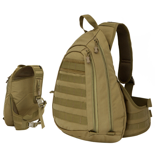 Men's Outdoor Camouflage Bag Large Capacity Chest Bag Messenger