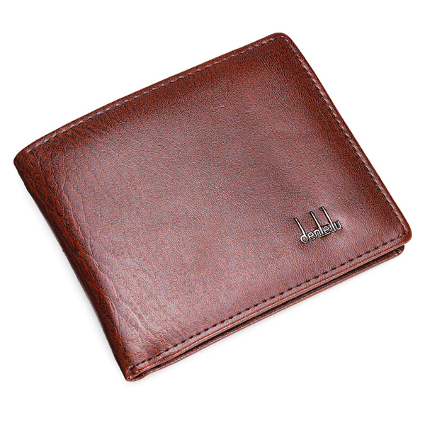 Men's Leather Business Wallet Pocket Card Clutch Bifold Slim Purse