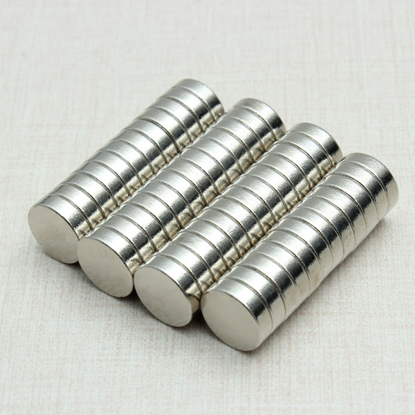 50pcs Strong Disc Round Rare Earth Neodymium Magnets N35 10x3mm