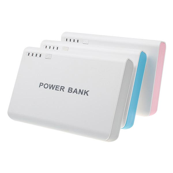 12000mAh 2USB LED External Battery Power Bank For iPhone
