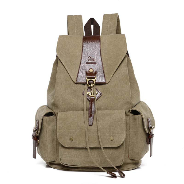 Canvas Women Backpack School Bags Casual Vintage Men's Backpacks