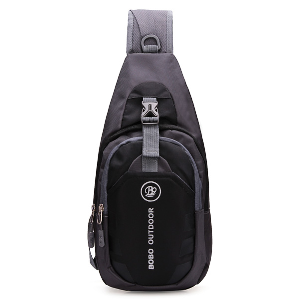 Men Women Waterproof Sport Chest Pouch Bag Shoulder Sling Bag