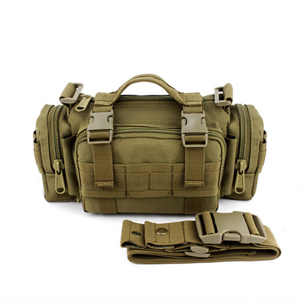 Multifunction Shoulder Men Tactical Outdoor Camouflage Crossbody Bag