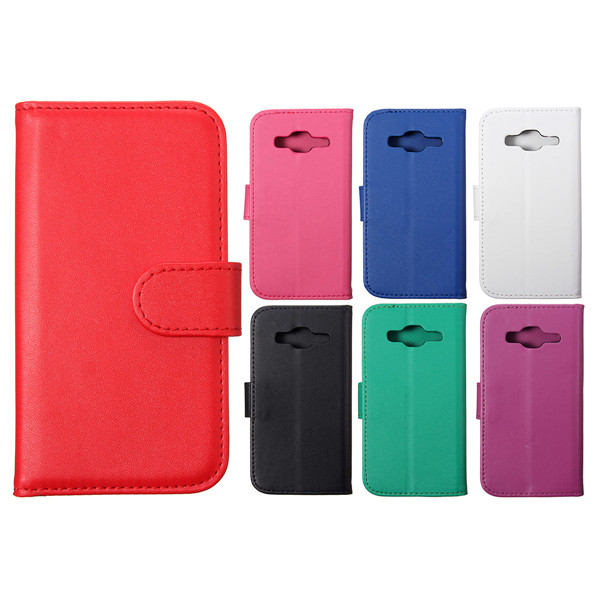 Flip Wallet Stand Leather Case Cover For Samsung Galaxy Core Prime G360F