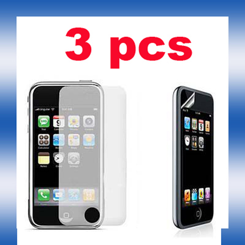 3 SCREEN PROTECTOR For iPod Touch 2 3 2G 3G CLEAR GUARD