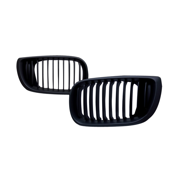 02-05 BMW E46 3 Series 4door Black Front Grill